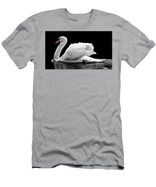 Elegant Swan Men's T-Shirt (Athletic Fit)