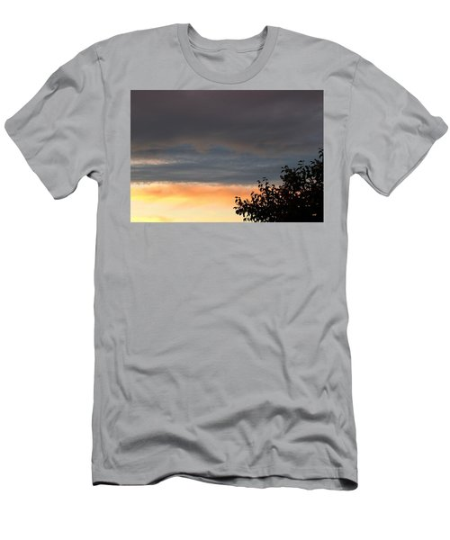 End Of Day Colors Men's T-Shirt (Athletic Fit)