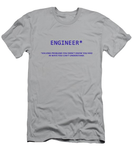 Engineer Men's T-Shirt (Athletic Fit)