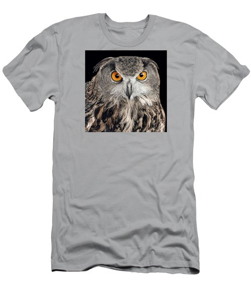 Eurasian Eagle Owl Men's T-Shirt (Athletic Fit)