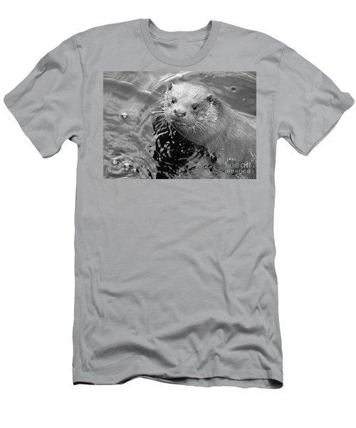 European Otter Men's T-Shirt (Athletic Fit)