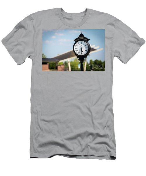 Evans Towne Center Park Clock - Evans Ga Men's T-Shirt (Athletic Fit)