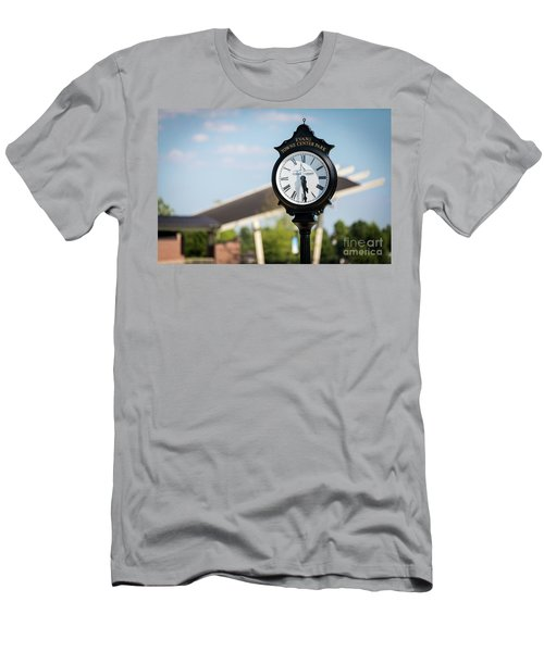 Evans Towne Center Park Clock - Evans Ga Men's T-Shirt (Athletic Fit)