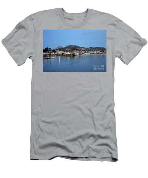 Evening In Morro Bay Men's T-Shirt (Athletic Fit)