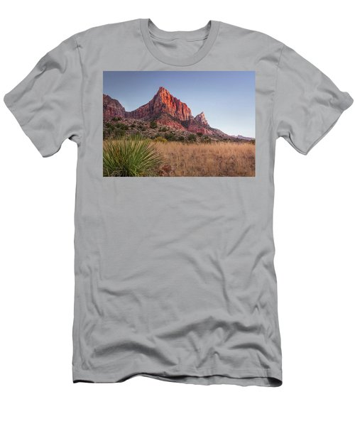 Evening Vista At Zion Men's T-Shirt (Athletic Fit)