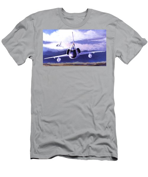 F-106a Head-on Men's T-Shirt (Athletic Fit)