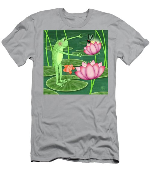 F Is For Frog Men's T-Shirt (Athletic Fit)