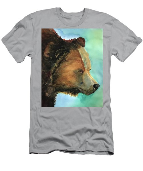 Face To Face Bear Men's T-Shirt (Athletic Fit)