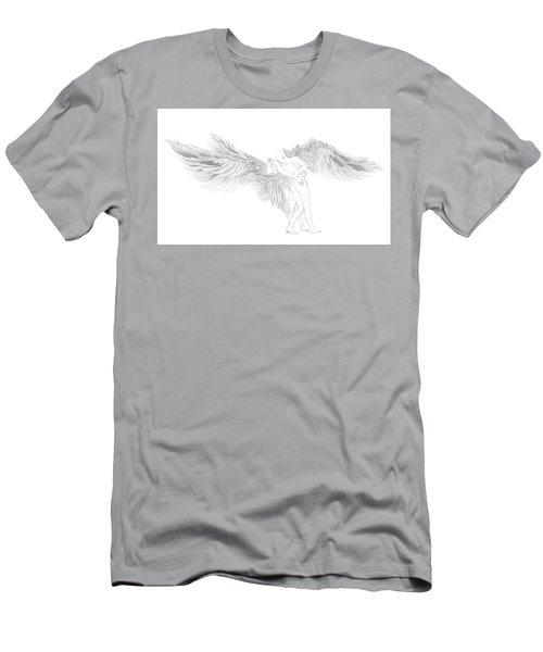 Faint Kiss Men's T-Shirt (Athletic Fit)