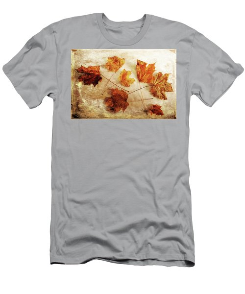 Men's T-Shirt (Athletic Fit) featuring the photograph Fall Keepers by Randi Grace Nilsberg