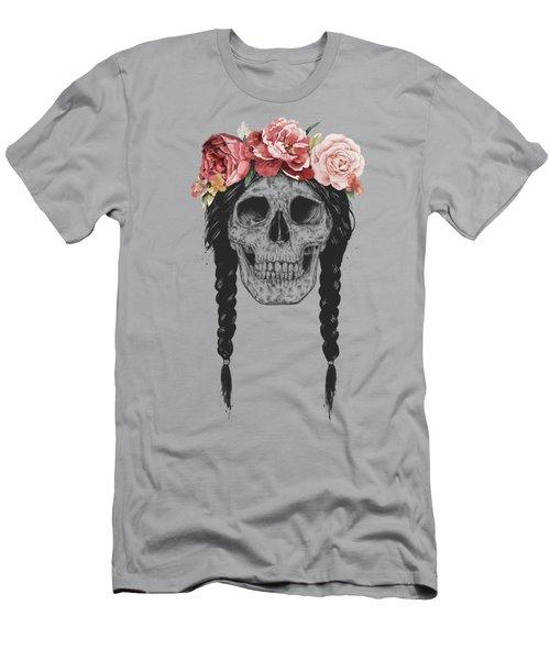 Festival Skull Men's T-Shirt (Athletic Fit)