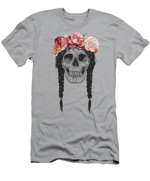 Festival Skull Men's T-Shirt (Athletic Fit)