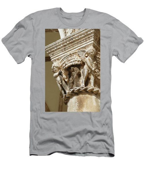 Figures On Capitals Of The Rector's Palace Men's T-Shirt (Athletic Fit)