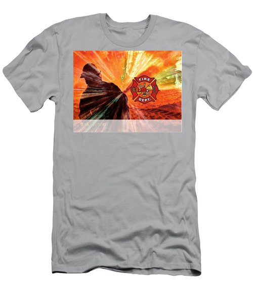 Fire Fighting 1 Men's T-Shirt (Athletic Fit)