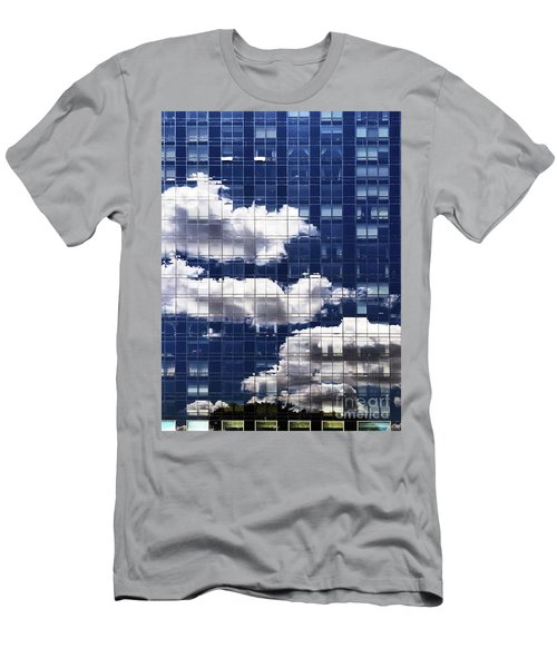Men's T-Shirt (Athletic Fit) featuring the photograph First Avenue Reflections by Rick Locke