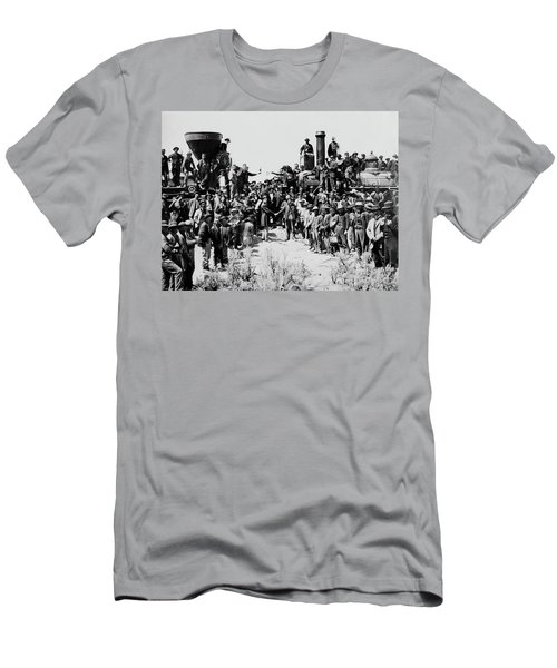 First Opening Of The Transcontinental Railroad - 1869 Men's T-Shirt (Athletic Fit)