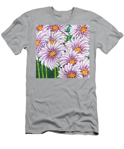Floral Whimsy 1 Men's T-Shirt (Athletic Fit)