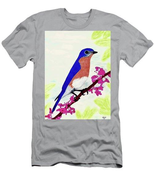 Florida - Eastern - Blue Bird Men's T-Shirt (Athletic Fit)