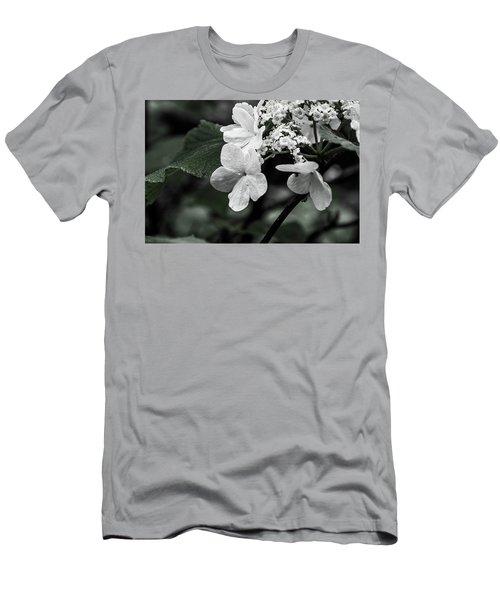 Flower And Rain Drops  8645 Men's T-Shirt (Athletic Fit)
