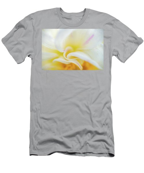 Men's T-Shirt (Athletic Fit) featuring the photograph Flower Curves by Francisco Gomez
