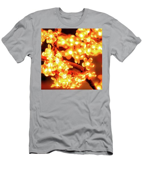 Flower Lights 5 Men's T-Shirt (Athletic Fit)