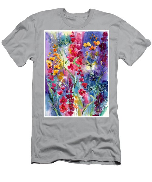 Flowers Fairy Tale Men's T-Shirt (Athletic Fit)