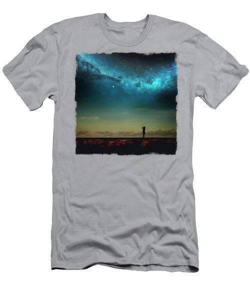 Follow Your Star Men's T-Shirt (Athletic Fit)