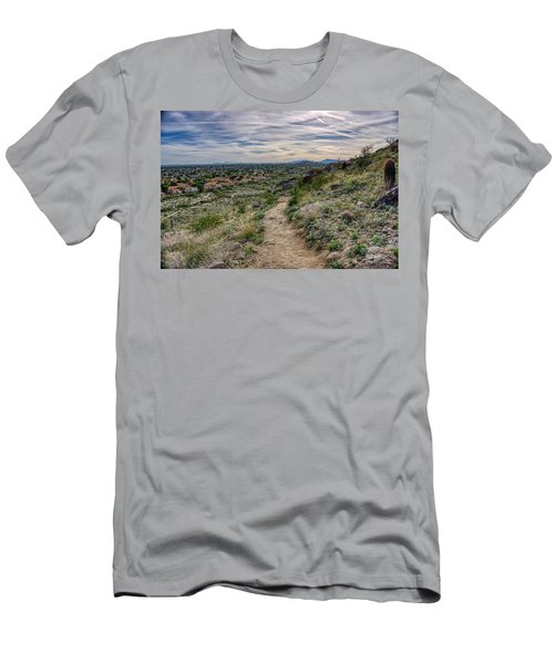 Following The Desert Path Men's T-Shirt (Athletic Fit)