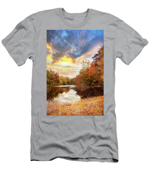For The Love Of Autumn Men's T-Shirt (Athletic Fit)