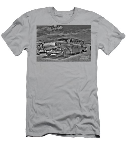 Ford Country Squire Wagon - Bw Men's T-Shirt (Athletic Fit)