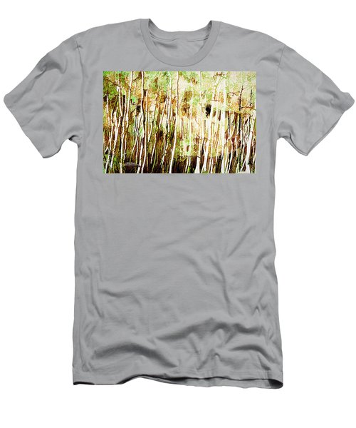 Men's T-Shirt (Athletic Fit) featuring the digital art Forest For The Trees by Mike Braun