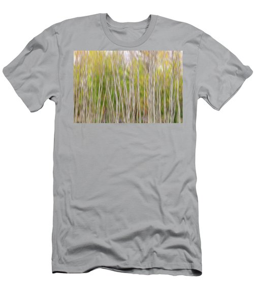 Men's T-Shirt (Athletic Fit) featuring the photograph Forest Twist And Turns In Motion by James BO Insogna
