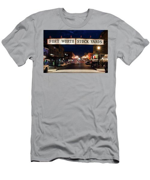 Fort Worth Stock Yards 112318 Men's T-Shirt (Athletic Fit)