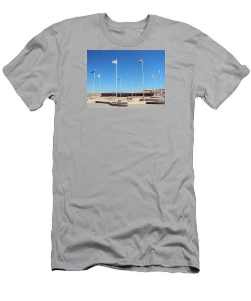 Four Corners Monument Men's T-Shirt (Athletic Fit)