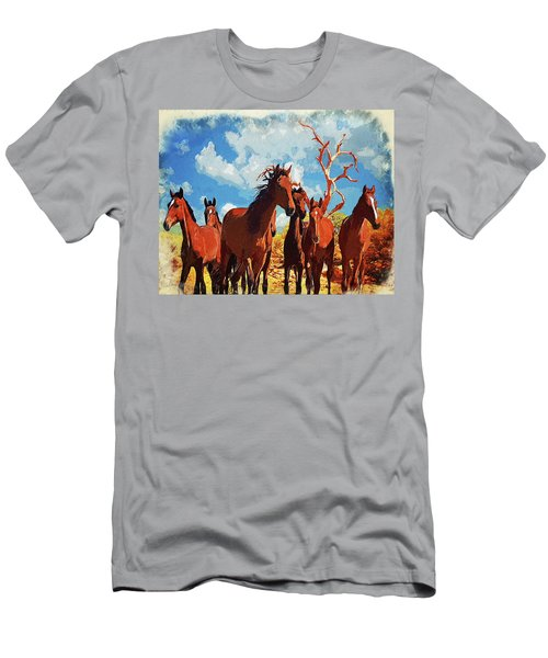 Free Spirits Men's T-Shirt (Athletic Fit)