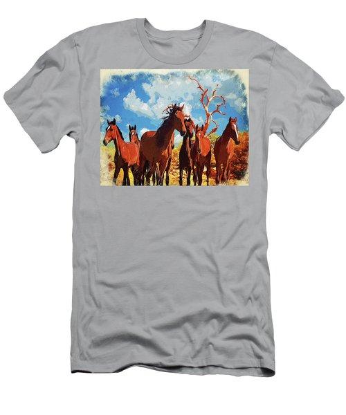 Free Spirits Men's T-Shirt (Athletic Fit)
