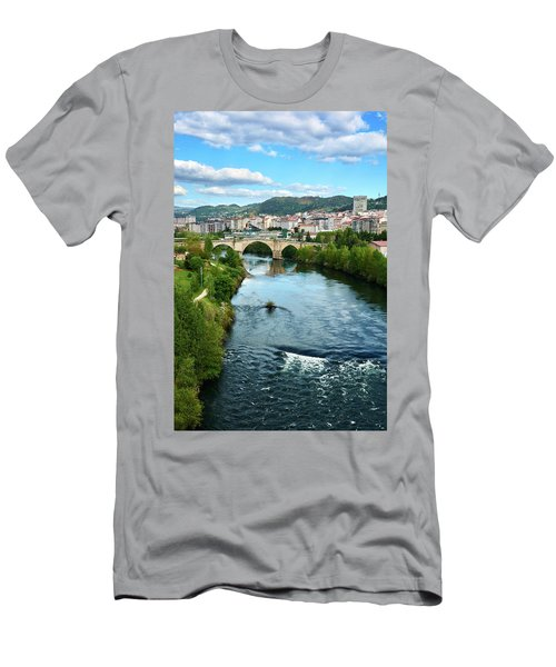 From The Top Of The Millennium Bridge Men's T-Shirt (Athletic Fit)