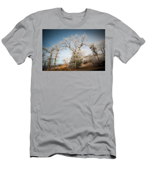 Frost On The Mountain Men's T-Shirt (Athletic Fit)