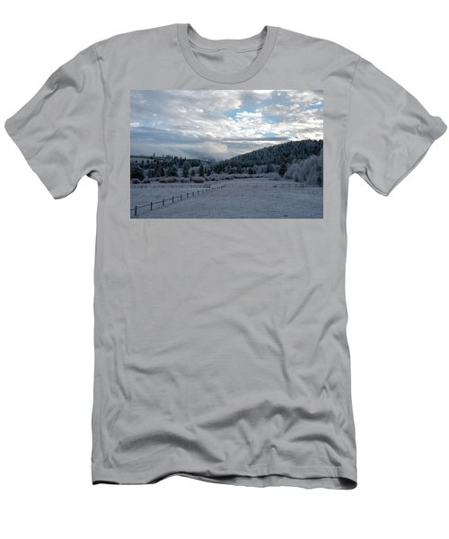 Frosted Sunrise 1 Men's T-Shirt (Athletic Fit)