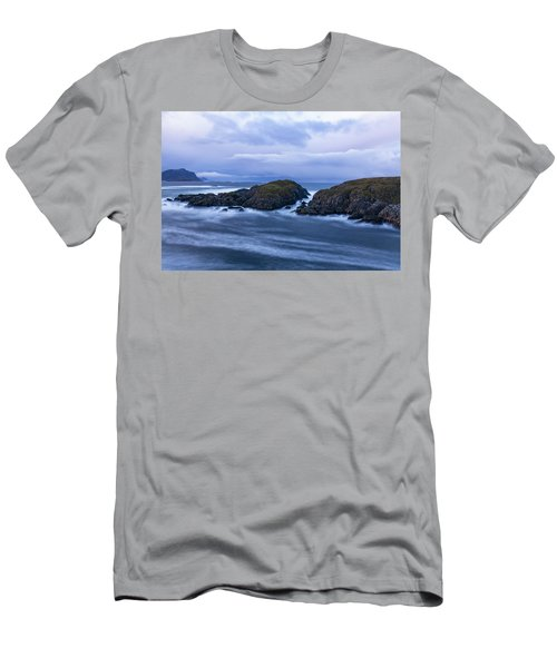 Frozen Water Movement Men's T-Shirt (Athletic Fit)