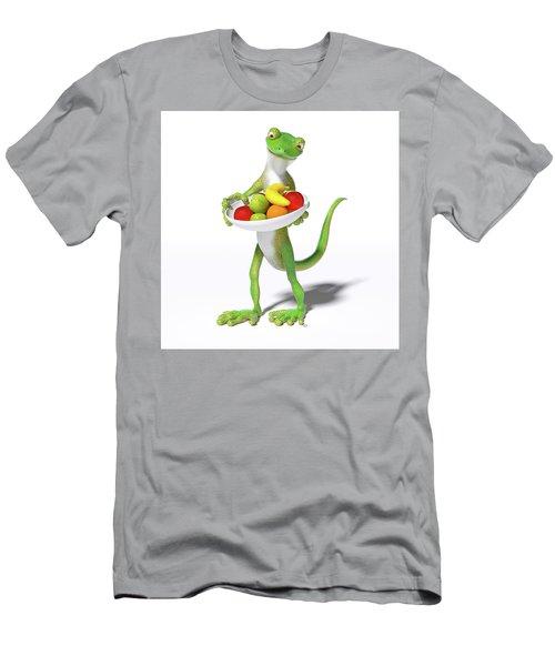 Fruitful Gecko Men's T-Shirt (Athletic Fit)