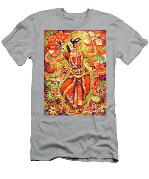 Ganges Flower Men's T-Shirt (Athletic Fit)