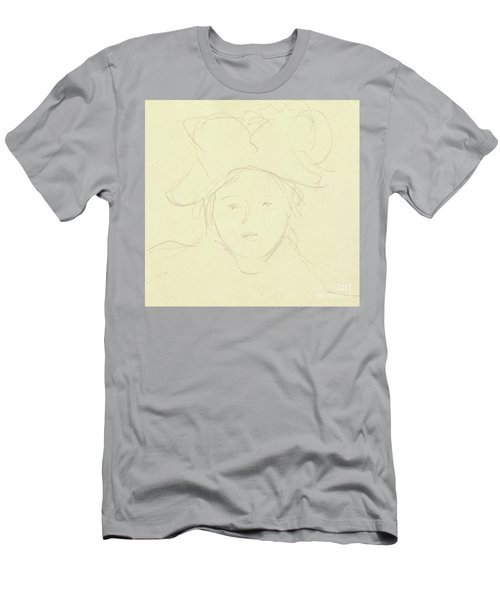 Girl With A Hat, 1889 Men's T-Shirt (Athletic Fit)