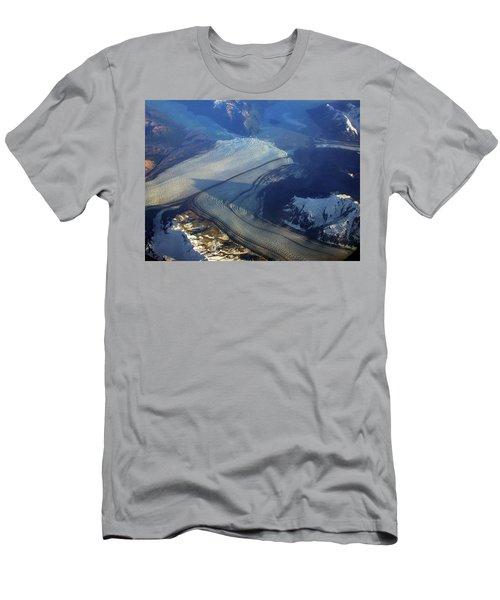 Glaciers Converge Men's T-Shirt (Athletic Fit)