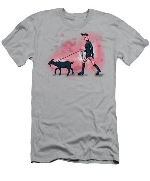 Goat Walk Men's T-Shirt (Athletic Fit)