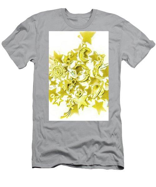 Golden Galaxy Men's T-Shirt (Athletic Fit)