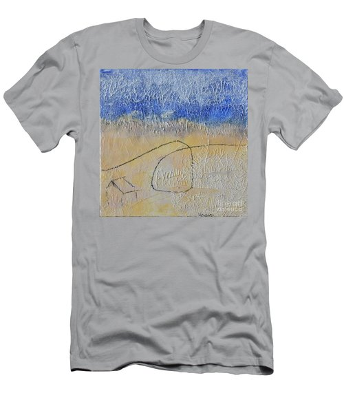 Men's T-Shirt (Athletic Fit) featuring the painting Golden Hour by Kim Nelson