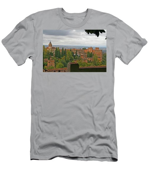 Granada, Spain - Alhambra Men's T-Shirt (Athletic Fit)
