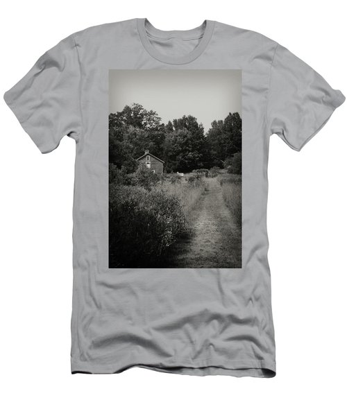 Men's T-Shirt (Athletic Fit) featuring the photograph Grandpa's Barn by Michelle Wermuth