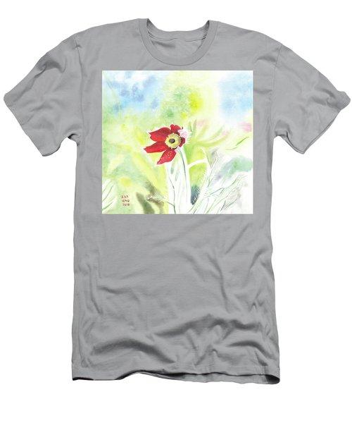 Granny Flower 3 Men's T-Shirt (Athletic Fit)